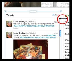 Twitter adjust feed