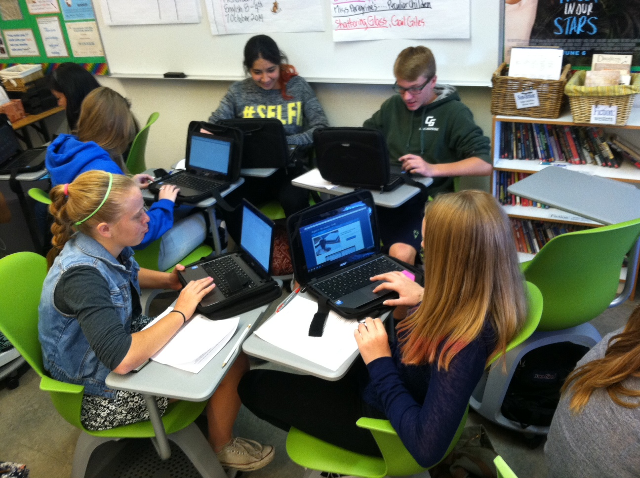 Collaborative Classroom Writing ~ St century collaboration put em on wheels laura bradley