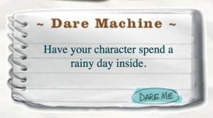 Combat writer's block with the Dare Machine.